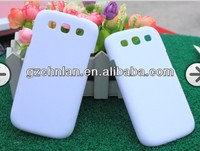 Blank sublimation phone case for samsung galaxy s3 i9300