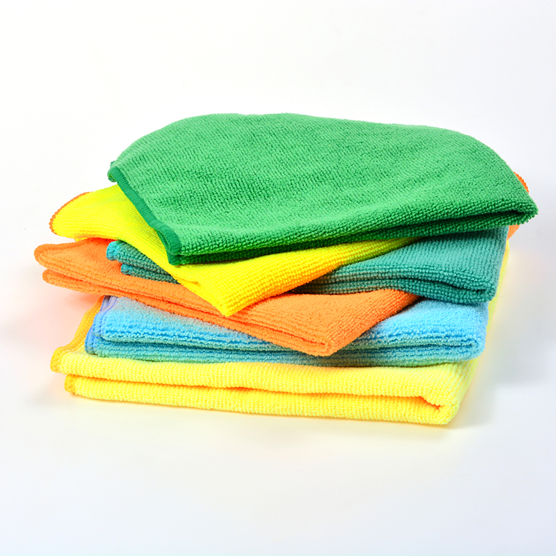 Quick Dry Super Absorbent Cleaning Microfiber Cloth Kitchen Cloth with Custom