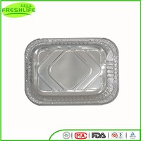 Unique style aluminum foil container aluminum foil serving tray for foods