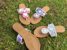 New Design Women Monogrammed Fashionable Lilly Sandals