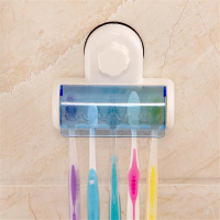 Wall Mounted Kids Toothbrush Holder With
