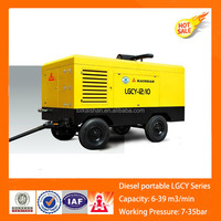 air compressor portable for cummins engine diesel engine driven air compressor
