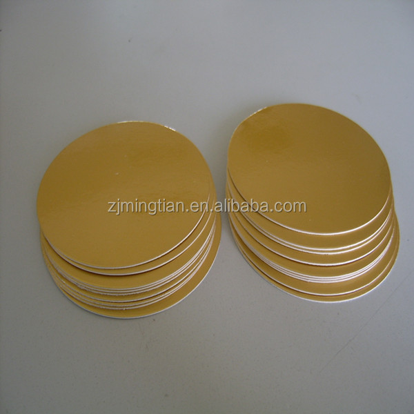 Aluminum induction heat seal for PET pesticides bottles