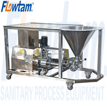 WPL high effective water powder emulsifying dosing mixer