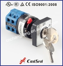 LW26S-10 Safety Off-On universal rotary elevator key switch