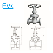 6 inch WCB gate valve with prices