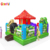 2018 garden theme inflatable obstacle course games for kids