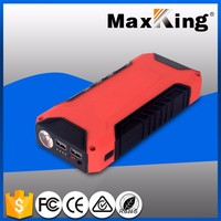 Newest 12000mah mini portable car self starter battery emergency rechargeable multi-function car jump starter for 12V auto