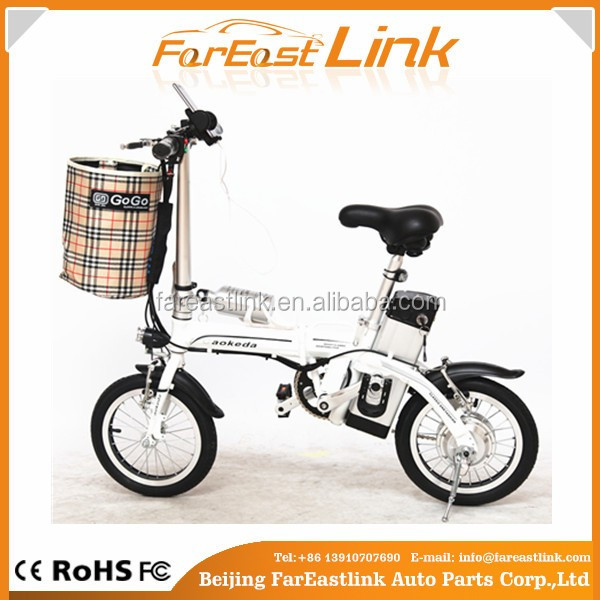 light foldable electric mini bike for female