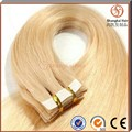 2016 Hot sell wholesale price 100% Indian virgin tape in hair extension