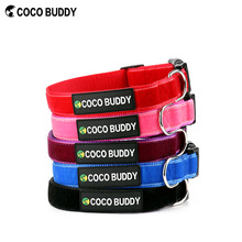2016 hot new velvet soft padded dog collars pet dog products