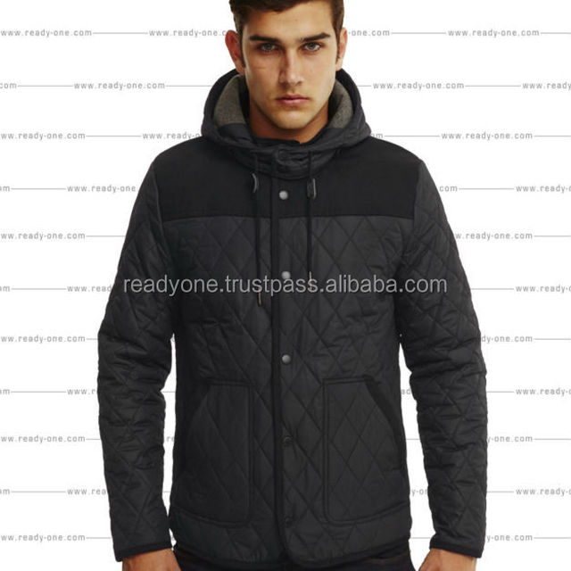 Camouflage winter padded jacket for man, mens western embroidered jackets