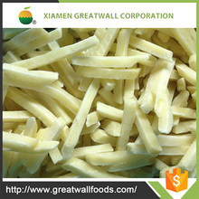 Top grade frozen iqf french fries