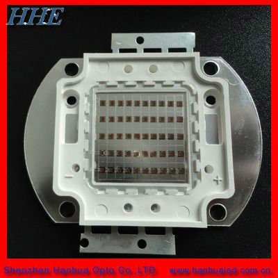 660nm 50w,100w high power led chip