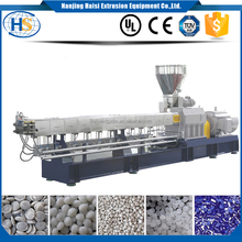Expanded particle film twin screw extrusion granulator foam beads polypropylene co-rotating pelletizer plastic extruder machine