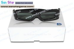 3D Glasses for TV for Samsung-Wear 3D Wireless Active Shutter Glasses to Watch Avatar