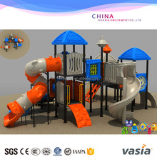 Hot Sale Children Preschool Outdoor rubber coating playground/Water park equipment