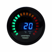 2 inch 52mm LCD digital Water Temperature Gauge