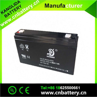 Best price long life lead acid rechargeable battery 6v 7ah for children's toy car