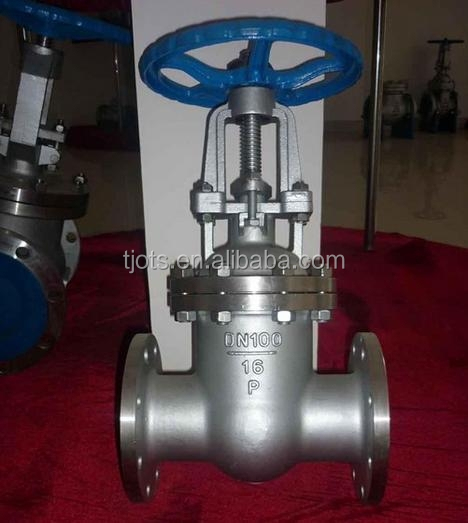 Flange Type Cast Iron 150lb Gate Valves pn16