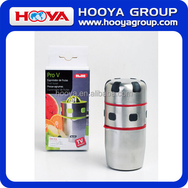 Pro V Juicer, Stainless Steel Handy Juicer, TV/ pro v juicer manual juicer as seen on TV