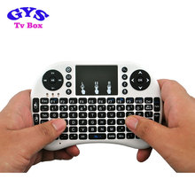 Raspberry pi industrial air mouse wireless mini i8 keyboard and fly air mouse touchpad for android tv box