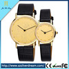 Latest couples Elegant charm Design Leather Strap anticlockwise Watches