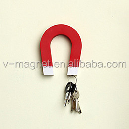 U shape magnet key holder , U Style magnetic key hanger ,