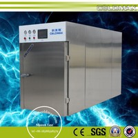 ce certification stainless steel bread cookies pizza burger bun puff pastry vacuum precooling machine for food