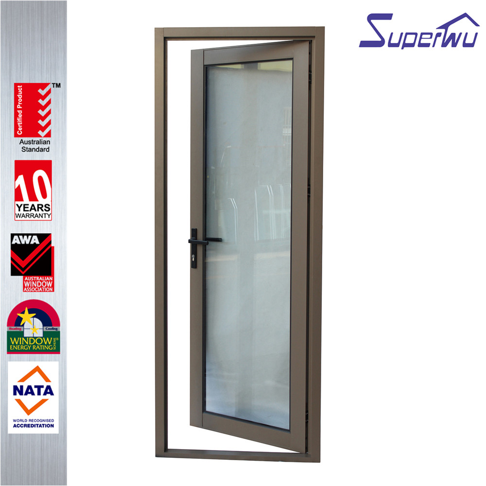 Australian standard aluminum alloy used commercial living room hinged door