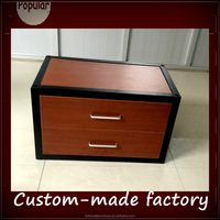 steel wood combination pre- assembled dormitory storage cabinet