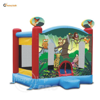 happyhop pro Jungle Bouncer-1022 Jungle Magic Bouncer