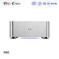 Top quality mini itx aluminum pc support two fan with and wifi
