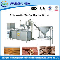 Automatc wafer batter mixer
