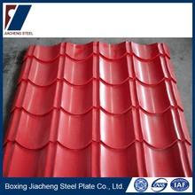 High quality color steel plate material ppgi roofing sheet