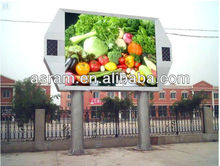 alibaba good setting MBI5024 vivid video p16/p10/p25 best price outdoor watrproof full color led panel display outdoor ad signs