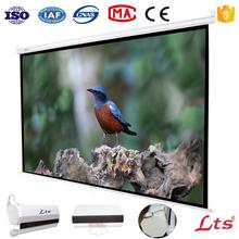 72 inch - 100 inch wall mount manual projector screen projection screen high gain portable screen