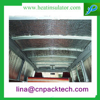 Flexible Eco Friendly Silver Shield Radiant Barrier For Car Insulation
