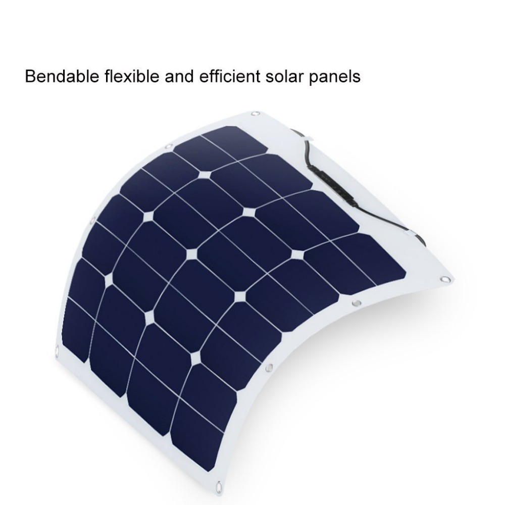 10w 20w 50w 100w sunpower silicon material rollable solar panel