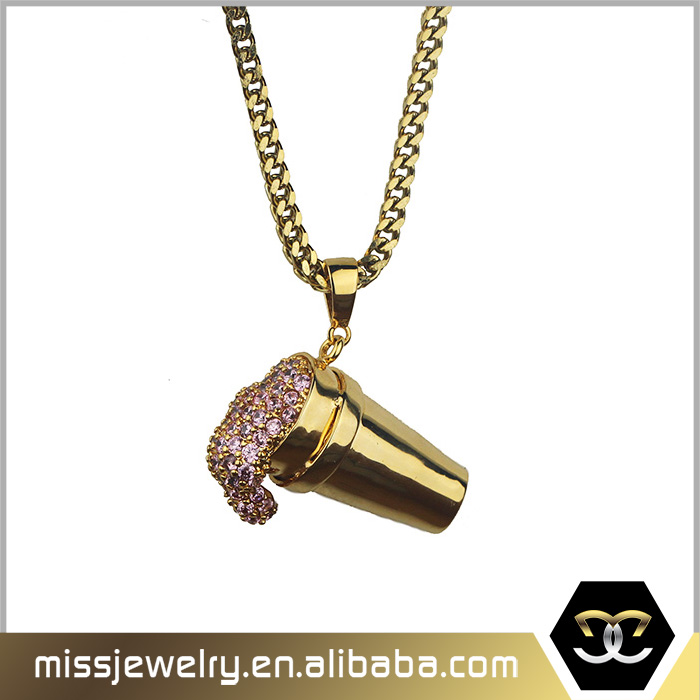List Manufacturers of Simple Gold Pendant Design, Buy Simple Gold ...