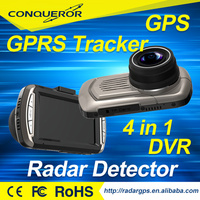 TAIWAN OEM+CAR Black Box+GPS+Radar Detector +gps tracker full hd car camera mobile dvr
