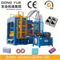QT4-15 dirt brick making mashine price in india brick block machine