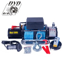 CE ROHS rescue 13000lb 12v electric badland winch