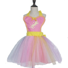 New Design Unicorn Gauze Princess <strong>Dress</strong> Custom Design Various Color <strong>Girl's</strong> Tutu <strong>dress</strong> For Baby Birthday Party