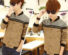 D62036T 2014 AUTUMN NEW STYLE KOREAN FASHION MEN'S LEISURE THIN COAT