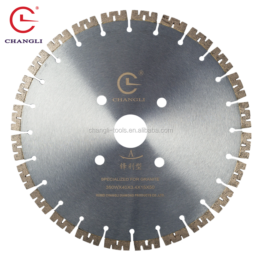 "Hubei Changli Welding Diamond Saw Blade, 350mm <strong>14</strong>"" granite cutting tools"