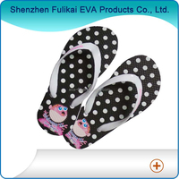 New light EVA indoor ladies slippers