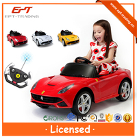 Crazy selling rastar electric car for kids to drive with licensed