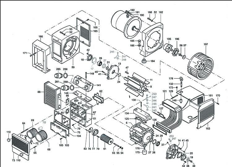 mass production becker pump kdt 3 80 diagram compressor