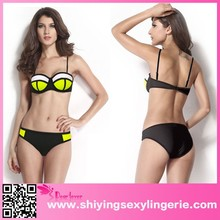 2015 Sexy Bandage Design hot sexi photo image Bikini Swimwear
